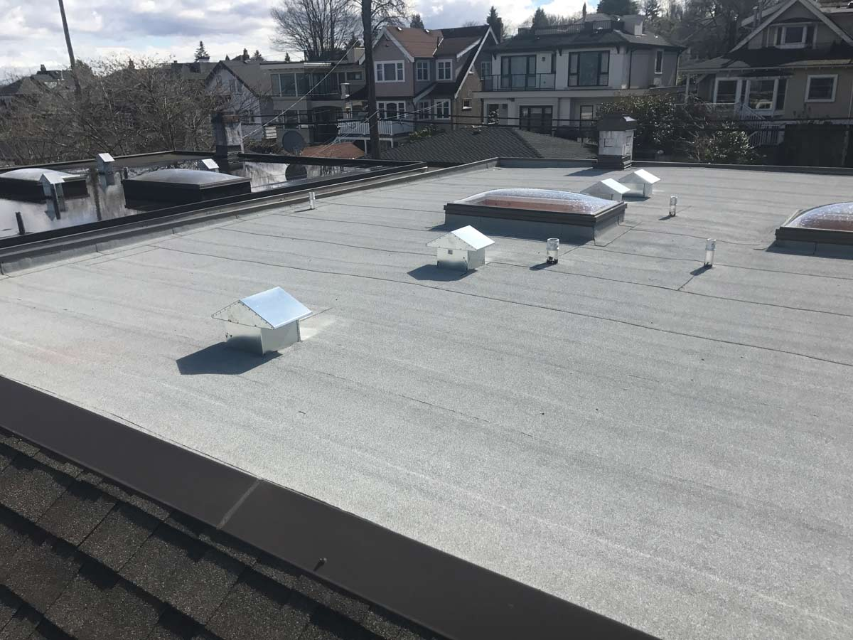 commercial roofing example work | Robinson Roofing
