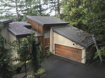 residential roofing example from top   Robinson Roofing