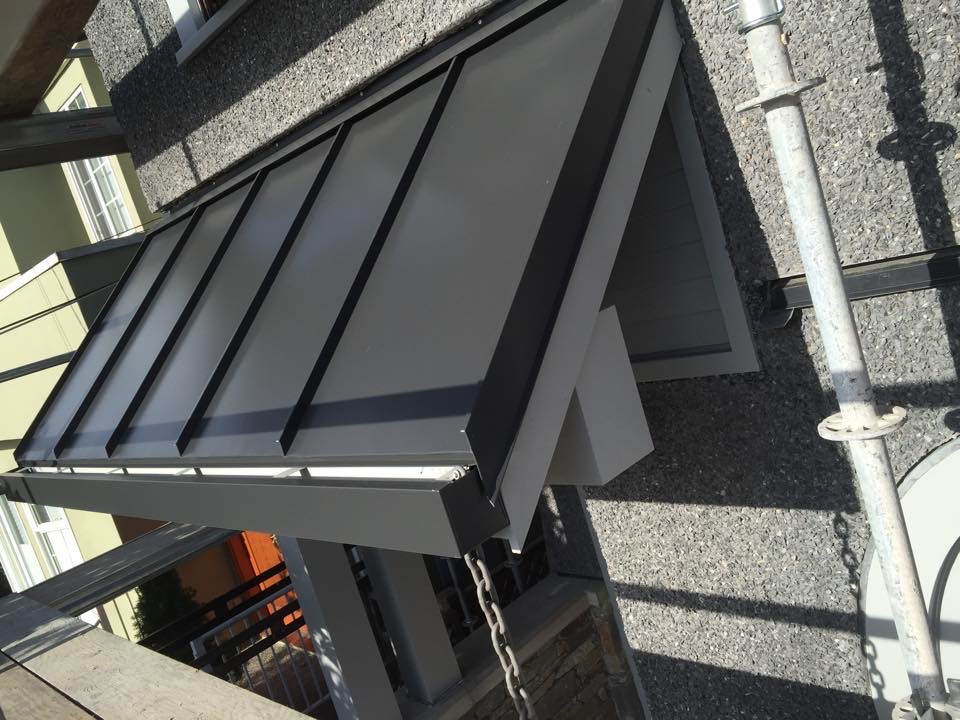 metal roofing example