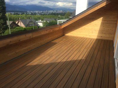 custom deck installation   Robinson Roofing