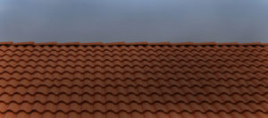 red roof darkened pattern | Robinson Roofing