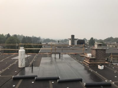 anti proofing commercial roofing from leaking | Robinson Roofing