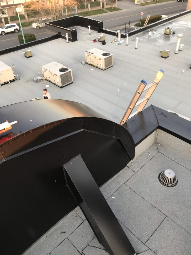 commercial torch on roofing examples | Robinson Roofing